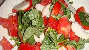 Cuisine of the Ionian islands - Image: Andrakla salata