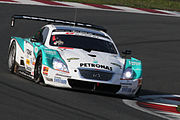 Andre Lotterer 2010 Super GT Fuji 400km qualify Super Lap