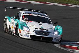 Andre Lotterer 2010 Super GT Fuji 400km qualify Super Lap