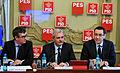 Andrei Dolineaschi, Liviu Dragnea si Victor Ponta la reuniunea BPN al PSD - 03.02.2014 (12286698374).jpg