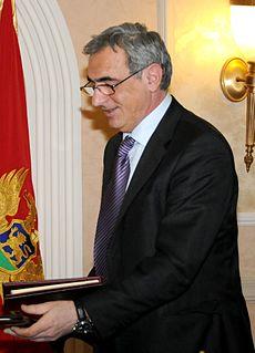 Andrija Lompar Montenegrin politician