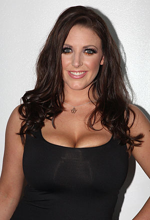 Angela White - White at the 2013 Sydney Sexpo, March 2013