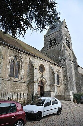 Angerville, Essonne - The church of Saint-Pierre-et-Saint-Eutrope, in Angerville