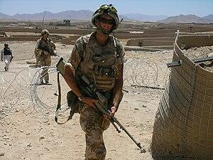 Royal Anglian Regiment - Royal Anglian Regiment in Afghanistan