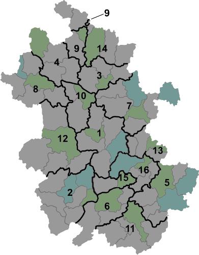 Anhui prfc map