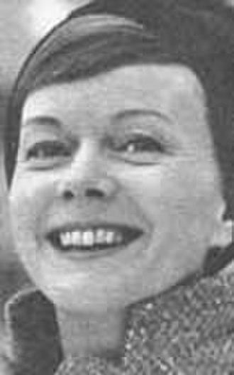 Anita Björk - Anita Björk, early 1960s