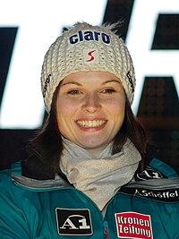 Anna Fenninger im Jänner 2011