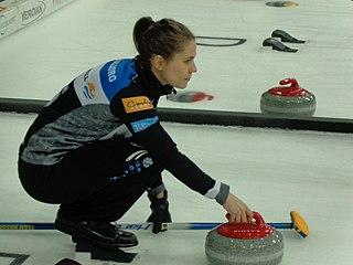 Anna Hasselborg Swedish curler