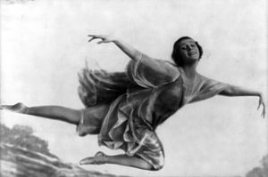 Russian ballet dancer Anna Pavlova (1881-1931)