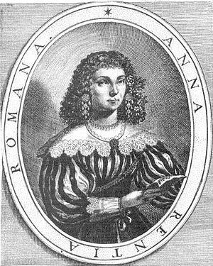 Teatro Santi Giovanni e Paolo - Anna Renzi who sang Ottavia in the premiere of L'incoronazione di Poppea