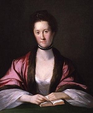 Portrait of Anna Seward