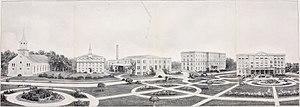 St. Viator College - St. Viator College in 1920