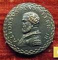 Anonimo, medaglia di alfonso I d'este, duca di ferrara, post 1505.JPG