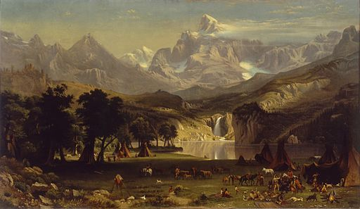 Anonymous, after Albert Bierstadt - The Rocky Mountains, Lander's Peak