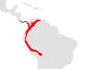 Anoura cultrata map.png