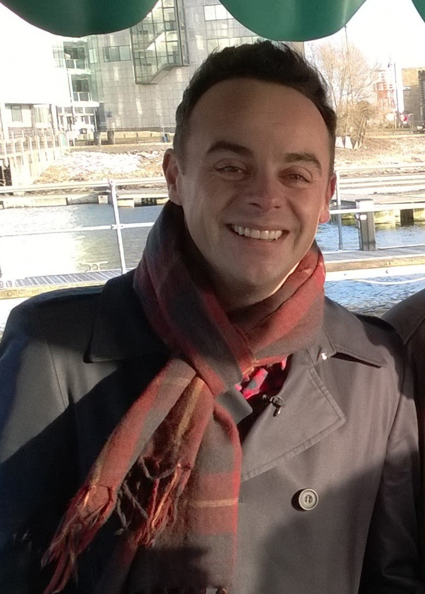 Anthony McPartlin (of Ant and Dec)