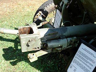 45 mm anti-tank gun M1937 (53-K) - Image: Anti tank gun 45mm m 1937 parola 2