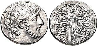 Cleopatra Selene of Syria - Antiochus IX