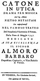 Antonio Vivaldi - Catone in Utica - titlepage of the libretto - Venice 1737.jpg