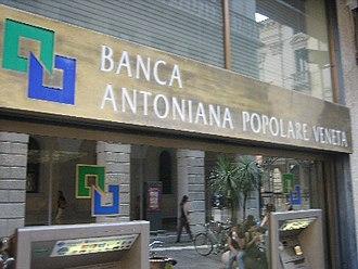 Banca Antonveneta - Banca Antonveneta in Genoa, Italy