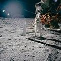 Apollo 11 photo of Buzz Aldrin by Neil Armstrong (48334391441).jpg