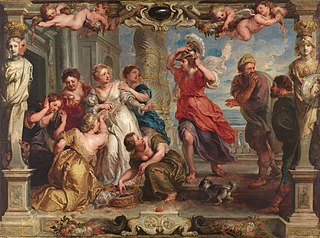 Achilles discovered by Ulysses among the daughters of Lycomedes