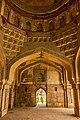 Architecture Inside Three Domed Mosque,Lodi Garden, Delhi.jpg