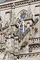 Arcs-boutants et pinacles du mur ouest de l'église Saint-Aubin en Notre-Dame-de-Bonne-Nouvelle, Rennes, France.jpg