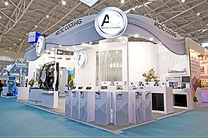 Arctic (company) - Arctic's booth in computex, Taiwan, 2008