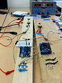 Arduino Uno Controlling Two Thunderbird 9 ESCs and Motors Reproduced with Power Supply and Low Current.jpg