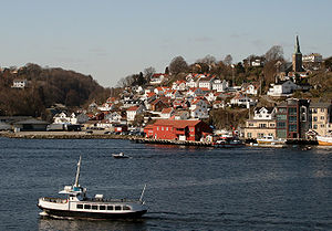 Barbu, Norway - View of Barbu