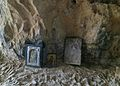 Argokiliotissa Chapel with cave, interior 13M372.jpg