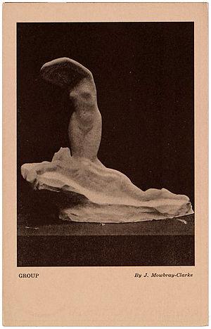 John Frederick Mowbray-Clarke - Image: Armory show postcard sculpture by John Frederick Mowbray Clarke