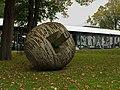Arnhem, Museum Moderne Kunst Arnhem - houten sculptuur IMG 6600 2015-10-10 13.09.jpg