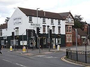 Arnold, Nottinghamshire - The 'Robin Hood and Little John' pub