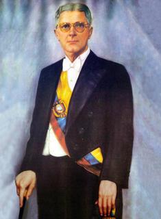 Carlos Julio Arosemena Tola President of Ecuador