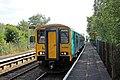 Arriva Trains Wales Class 150, 150250, Hawarden Bridge railway station (geograph 4032357).jpg