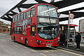Arriva bus DW543 (LJ13 CFE), Tottenham Hale bus sation, 8 November 2014.jpg