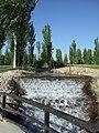 Arroyo desde la fuente de piedra del parque juan carlos.jpg