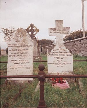 Arthur Bell Nicholls - Arthur Bell Nicholls's gravestone in Banagher