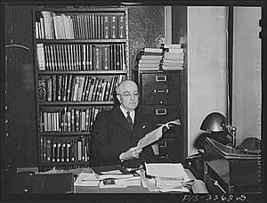 Arthur W. Hummel Sr. - Hummel in 1942