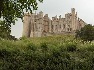 English cricket team in Australia in 1962–63 - The Duke of Norfolk has his own first class cricket ground at Arundel Castle in Sussex, where touring teams have played the Duke of Norfolk's XI since 1954.