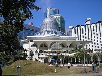 As Syakirin Mosque - Image: As Syakirin Mosque, Kuala Lumpur