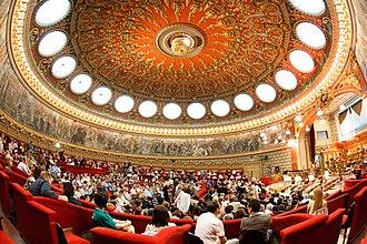 Romanian Athenaeum - Interior of the Romanian Athenaeum