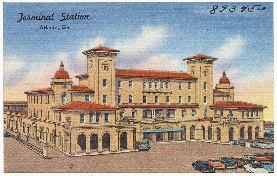 Atlanta Terminal Station (c. 1949)