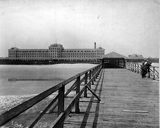 Atlantic Beach, Florida - Atlantic Beach Hotel in 1919.