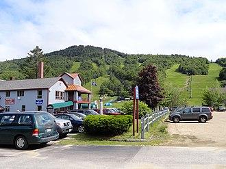 Attitash Mountain Resort - A view of the slopes of Attitash in summer