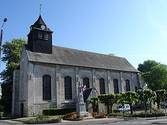 Aubigny-en-Artois - The church of Aubigny-en-Artois