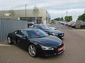 Audi R8 and new car showroom (geograph 5415495).jpg