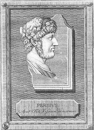 Aulus Persius Flaccus, scriptor romanus